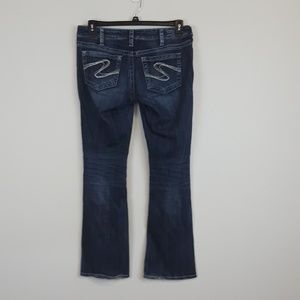 Silver jeans Aiko bootcut blue jeans size 31